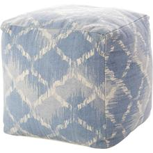 """See Details - Life Styles As202 Ocean 16"""" X 16"""" Pouf"""