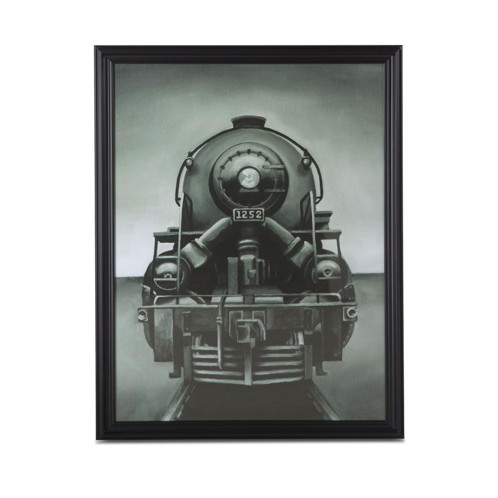 Peinture Train Art Photo