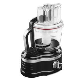 Pro Line® Series 16-Cup Food Processor with Die Cast Metal Base and Commercial-Style Dicing Kit Onyx Black