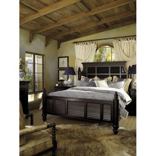 Malabar Panel Bed California King