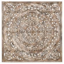 See Details - 58\u0022 Wood Carved Panel