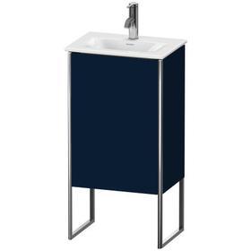 Vanity Unit Floorstanding, Night Blue Satin Matte (lacquer)