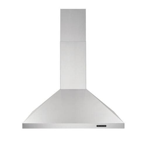 Broan® 30-Inch Convertible Wall-Mount Chimney Range Hood, 400 CFM, Stainless Steel