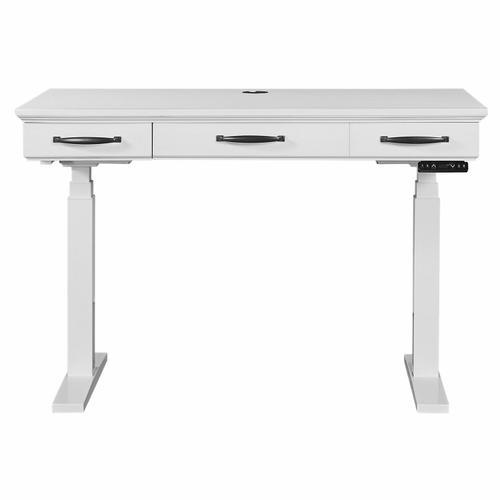 Parker House - SHOREHAM - EFFORTLESS WHITE Power Lift Desk
