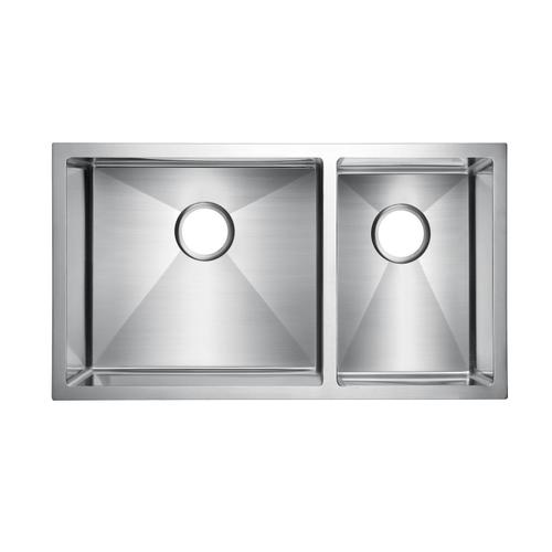 Guilio Double Bowl Stainless Kitchen Sink - 33""