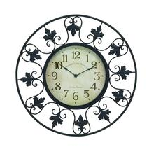 "MTL OUTDOOR WALL CLOCK 23""D"