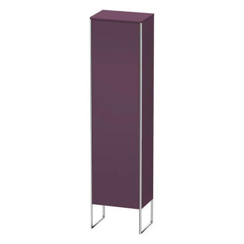 Tall Cabinet Floorstanding, Aubergine Satin Matte (lacquer)