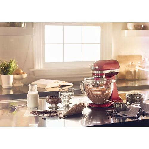 Artisan® Mini Design Series 3.5 Quart Tilt-Head Stand Mixer Candy Apple Red