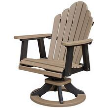 Cozi-Back Swivel Rocker Dining Chair