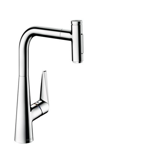 Chrome HighArc Kitchen Faucet, 2-Spray Pull-Out with sBox, 1.75 GPM
