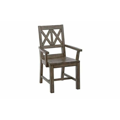 Gallery - Wood Arm Chair