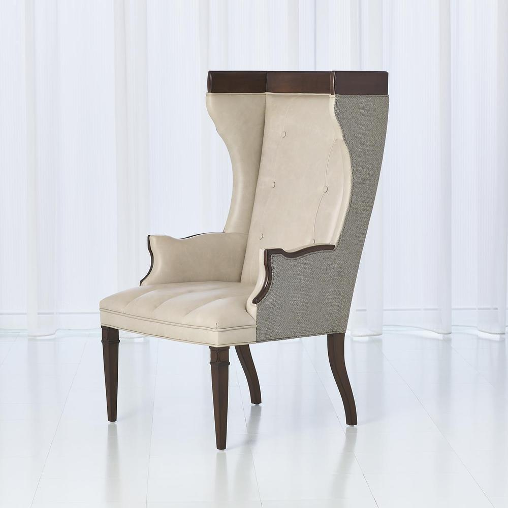 See Details - Wrenn Chair-Fabric/Leather Combo