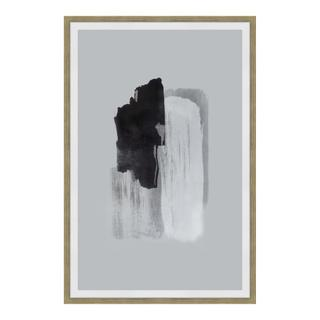 See Details - Wisdom 1 Abstrack Ink Print Wall Décor