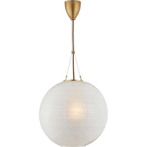 Alexa Hampton Hailey 1 Light 18 inch Natural Brass Pendant Ceiling Light