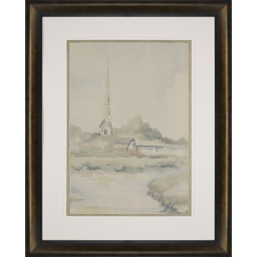 Watercolor Landscape V