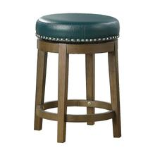 See Details - Round Swivel Counter Height Stool, Green