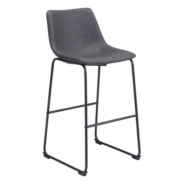 See Details - Smart Bar Chair Charcoal