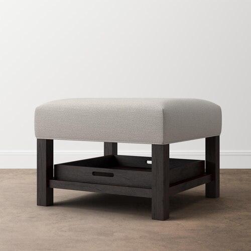 Bassett FurnitureLori Ottoman W/trays