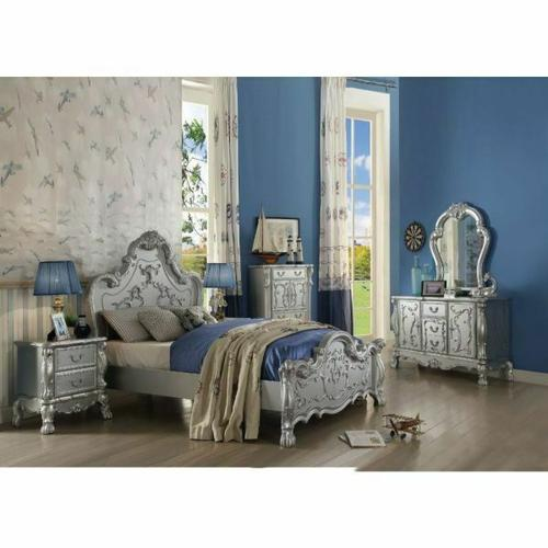 ACME Dresden Queen Bed - 30680Q - Silver