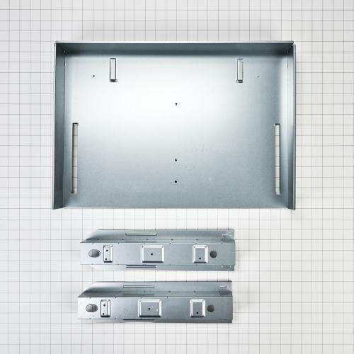 Whirlpool - Over-The-Range Microwave Trim Kit, Anti-Fingerprint Stainless Steel
