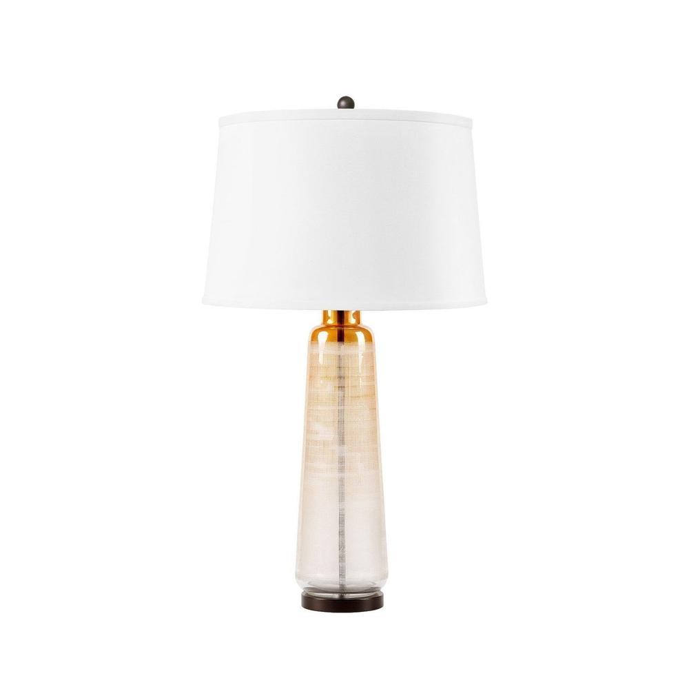 Celestina Lamp, Gold Luster