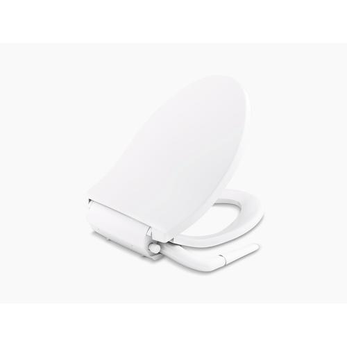 Biscuit Elongated Manual Bidet Toilet Seat