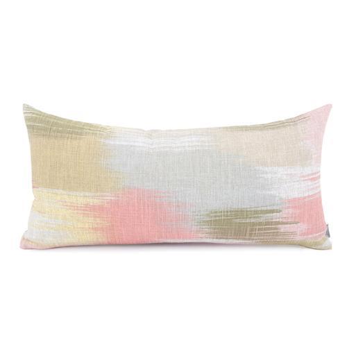 Howard Elliott - Kidney Pillow Gleam Coral - Down Insert