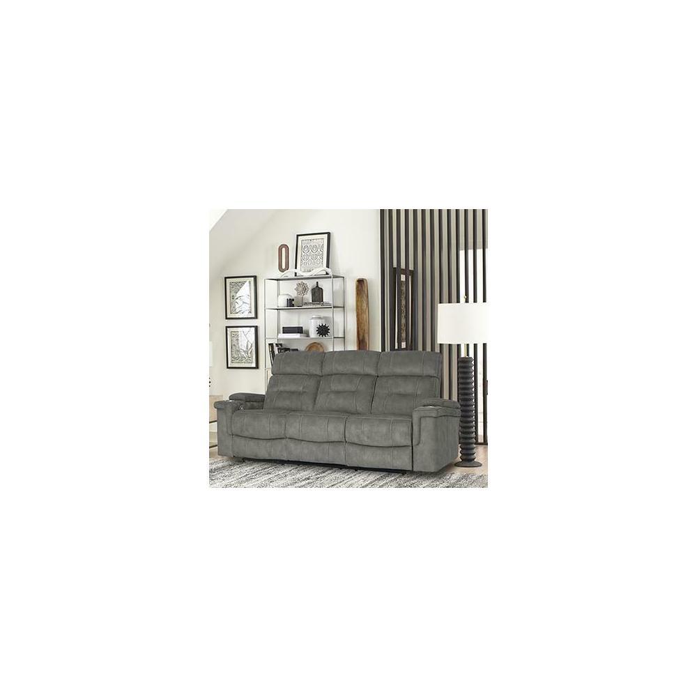 See Details - DIESEL POWER - COBRA GREY Power Sofa