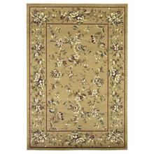 "Cambridge 7338 Beige Floral Delight 5'3"" X 7'7"""