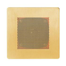 Self Powered Bluetooth Speakers in Polished Gold