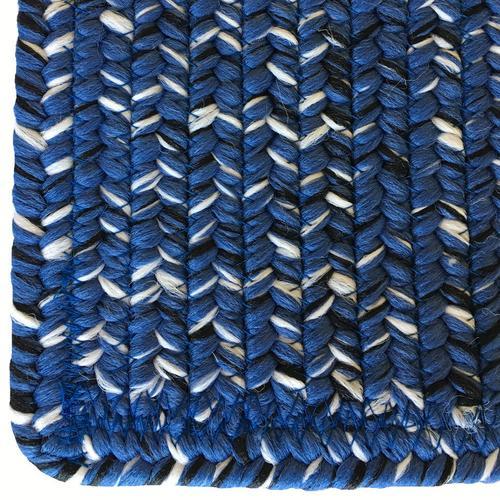 Team Spirit Blue Black Braided Rugs
