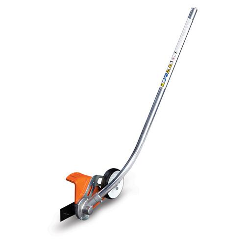 This STIHL KombiSystem curved lawn edger attachment cleans up edges along walkways and planting beds.