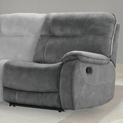 Parker House - COOPER - SHADOW GREY Manual Right Arm Facing Recliner