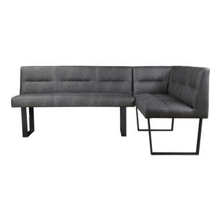 Hanlon Corner Bench Dark Grey