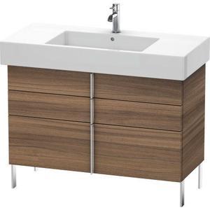 Vanity Unit Floorstanding, Natural Walnut (decor)