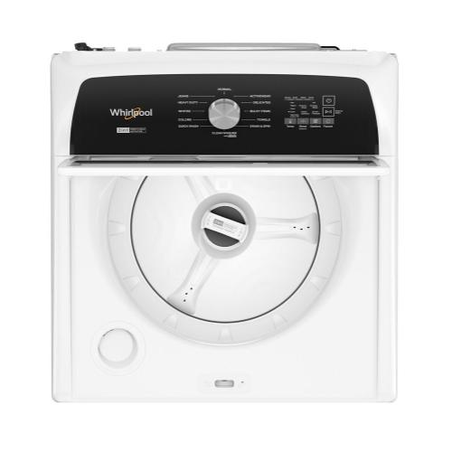 Whirlpool - 4.7-4.8 Cu. Ft. Capacity Top Load Washer with Removable Agitator