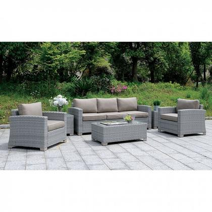 See Details - Brindsmade 6 Pc. Patio Set W/ Coffee Table & 2 End Tables