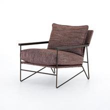Afton Aubergine Cover Della Chair