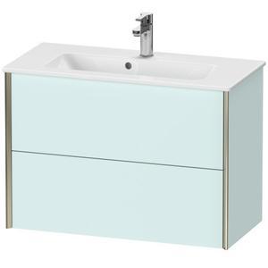 Duravit - Vanity Unit Wall-mounted Compact, Light Blue Matte (decor)