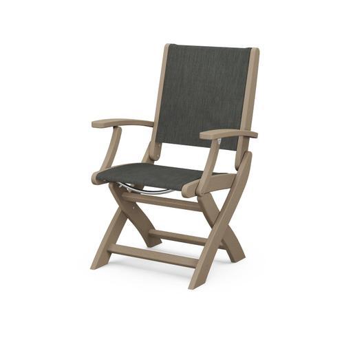 Product Image - Coastal Folding Chair in Vintage Sahara / Ember Sling