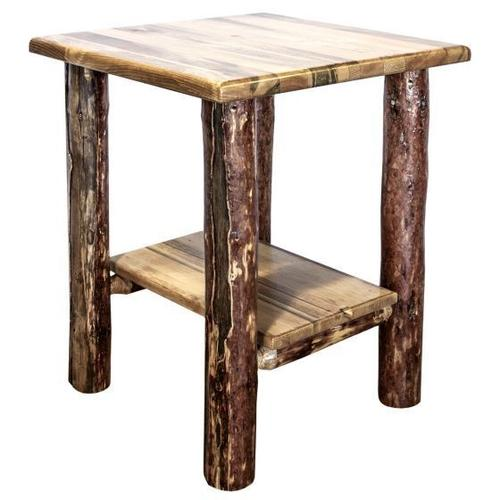 Montana Woodworks - Glacier Country Collection Nightstand with Shelf