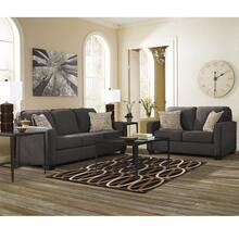 See Details - Signature Design by Ashley Alenya Living Room Set in Charcoal Microfiber