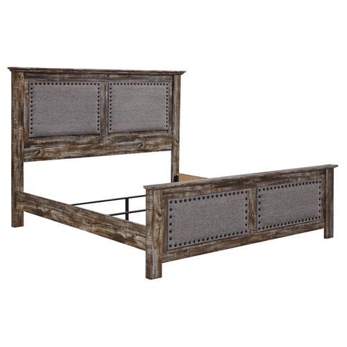 Lynnton - Rustic Brown 3 Piece Bed (King)