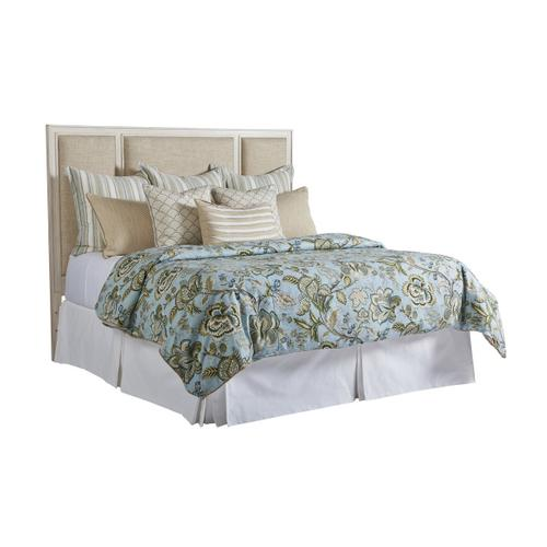 Crystal Cove Upholstered Panel Bed Twin Headboard