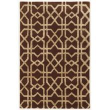 See Details - Aspire Wool Xfts Brown/ Beige 2x3