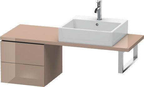 Low Cabinet For Console Compact, Cappuccino High Gloss (lacquer)
