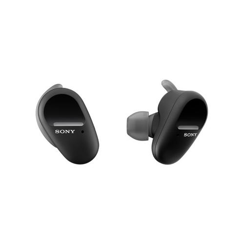 Sony - Truly Wireless In-ear Sports Headphones with Microphone - Black
