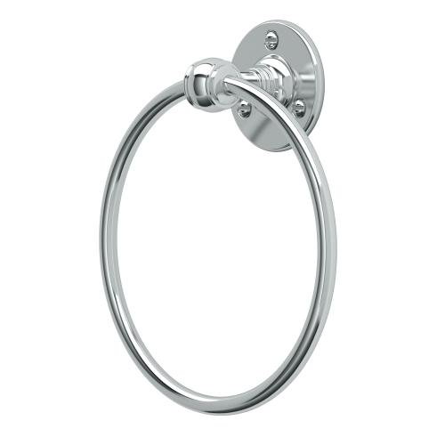 Cafe Towel Ring in Chrome