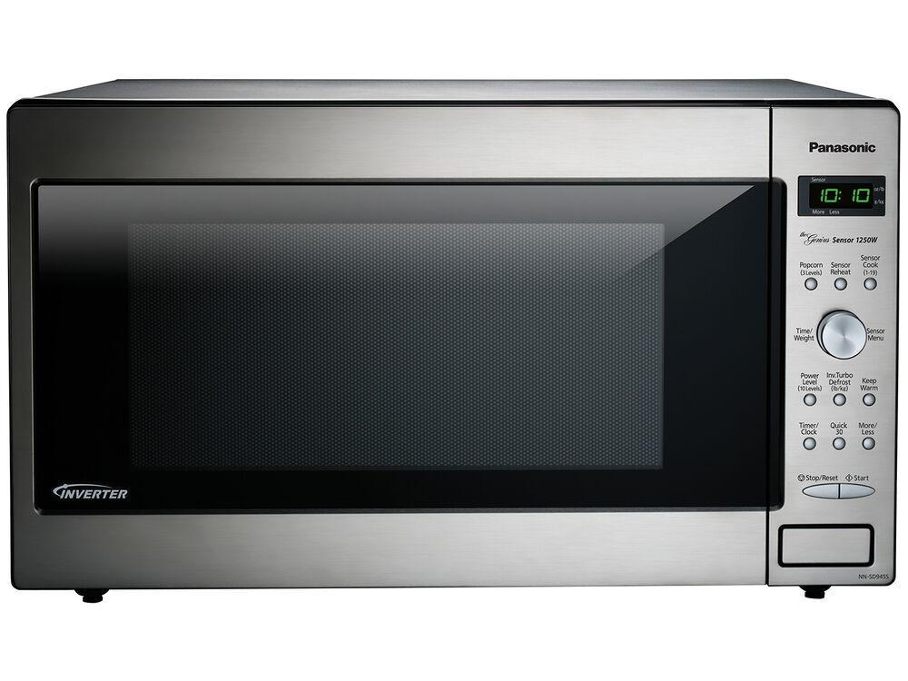 Panasonic2.2 Cu. Ft. Built-In/countertop Microwave Oven With Inverter Technology - Stainless Steel - Nn-Sd945s