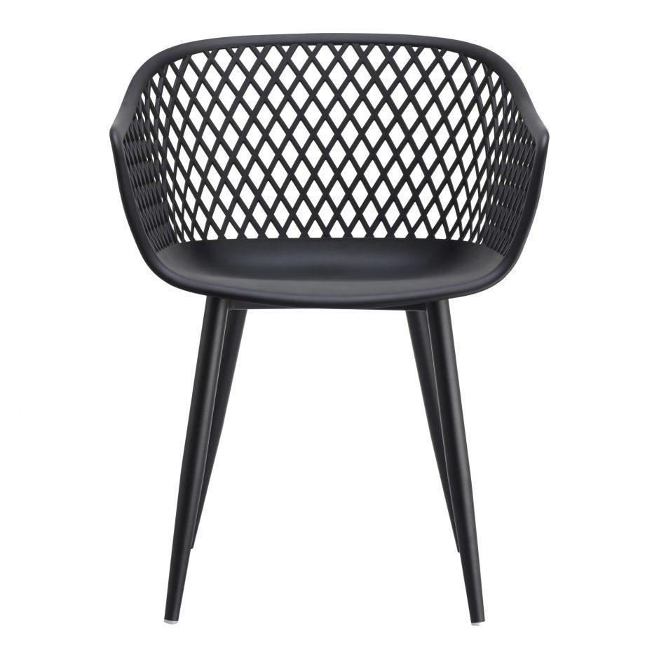 See Details - Piazza Outdoor Chair Black-m2